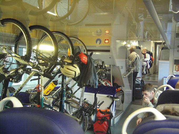 Vélo dans les transports publics