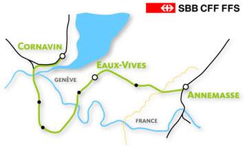L'ADTC-Grenoble soutient CEVA, le projet de RER genevois
