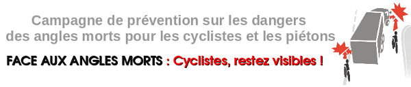 Vélos, bus, camions, cohabitons : bandeaux web.