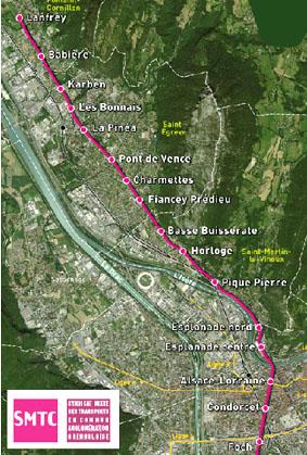 Projet ligne de Tram E : enquête publique