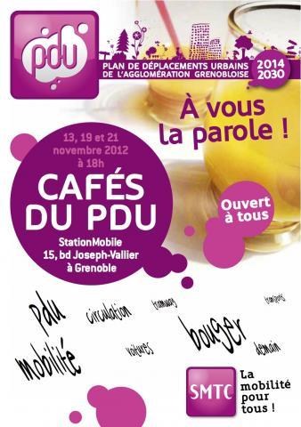 PDU de l'agglomération grenobloise – les cafés du PDU