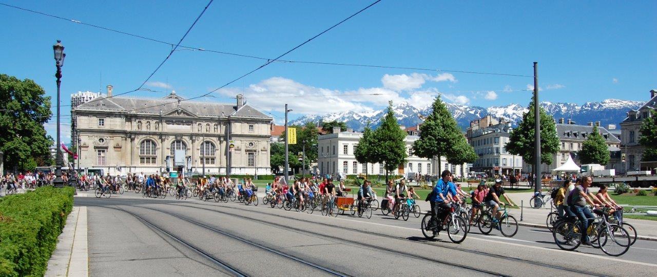 « Grenoble métropole cyclable »