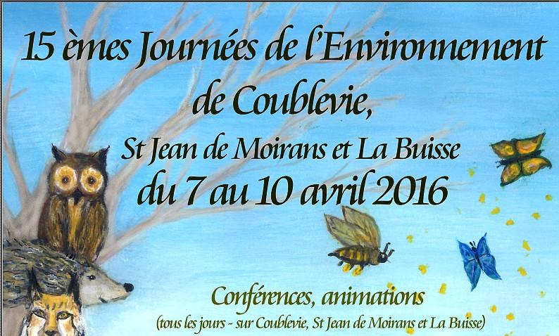 Journées de l'Environnement de Coublevie, La Buisse et St Jean de Moirans