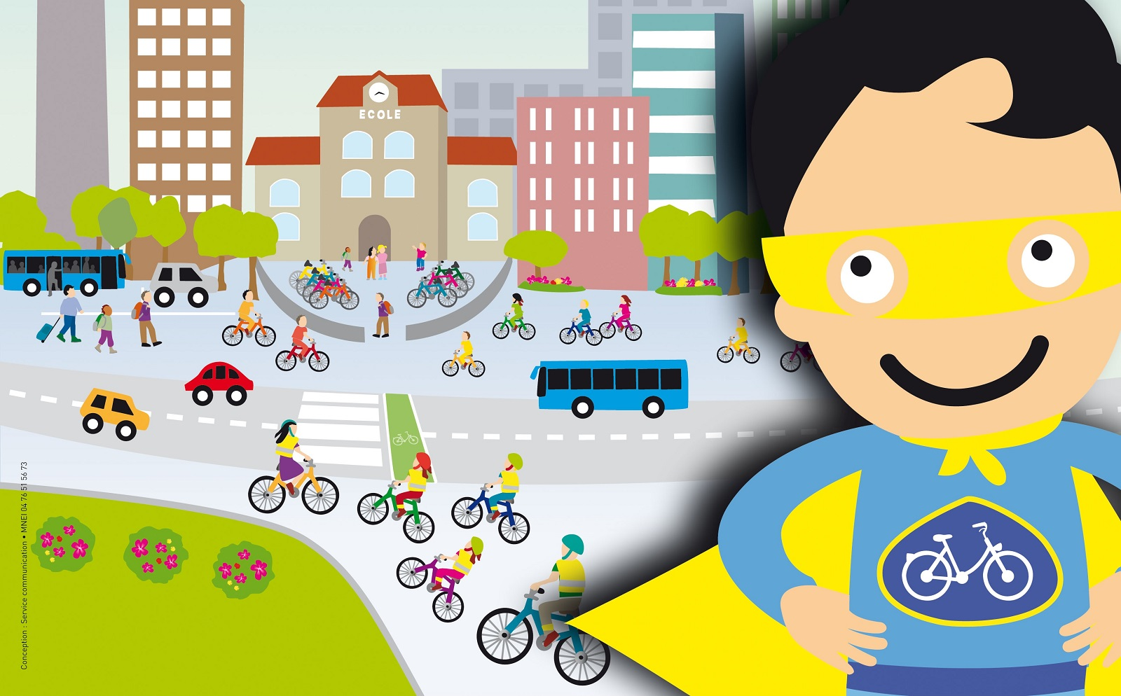 26 mai 2016, 13ème concours des écoles et collèges à vélo