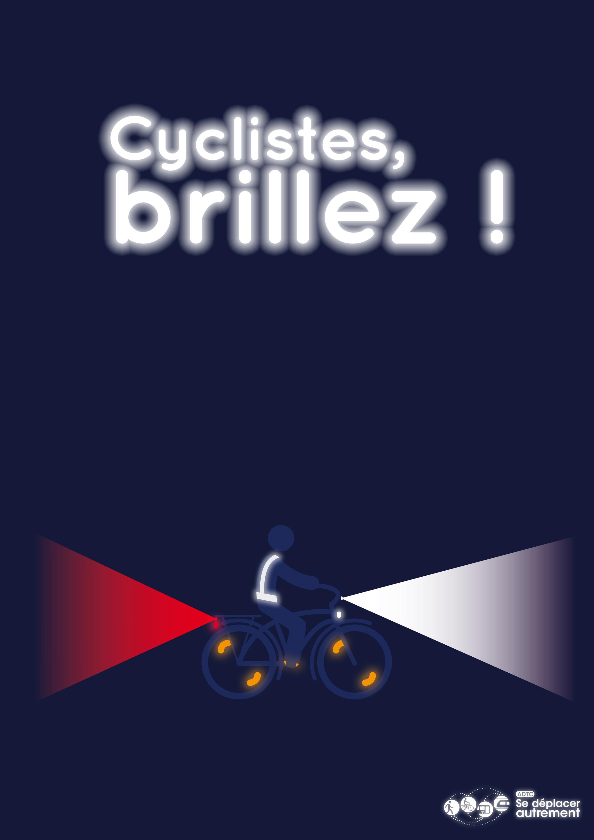 cyclistes brillez ADTC