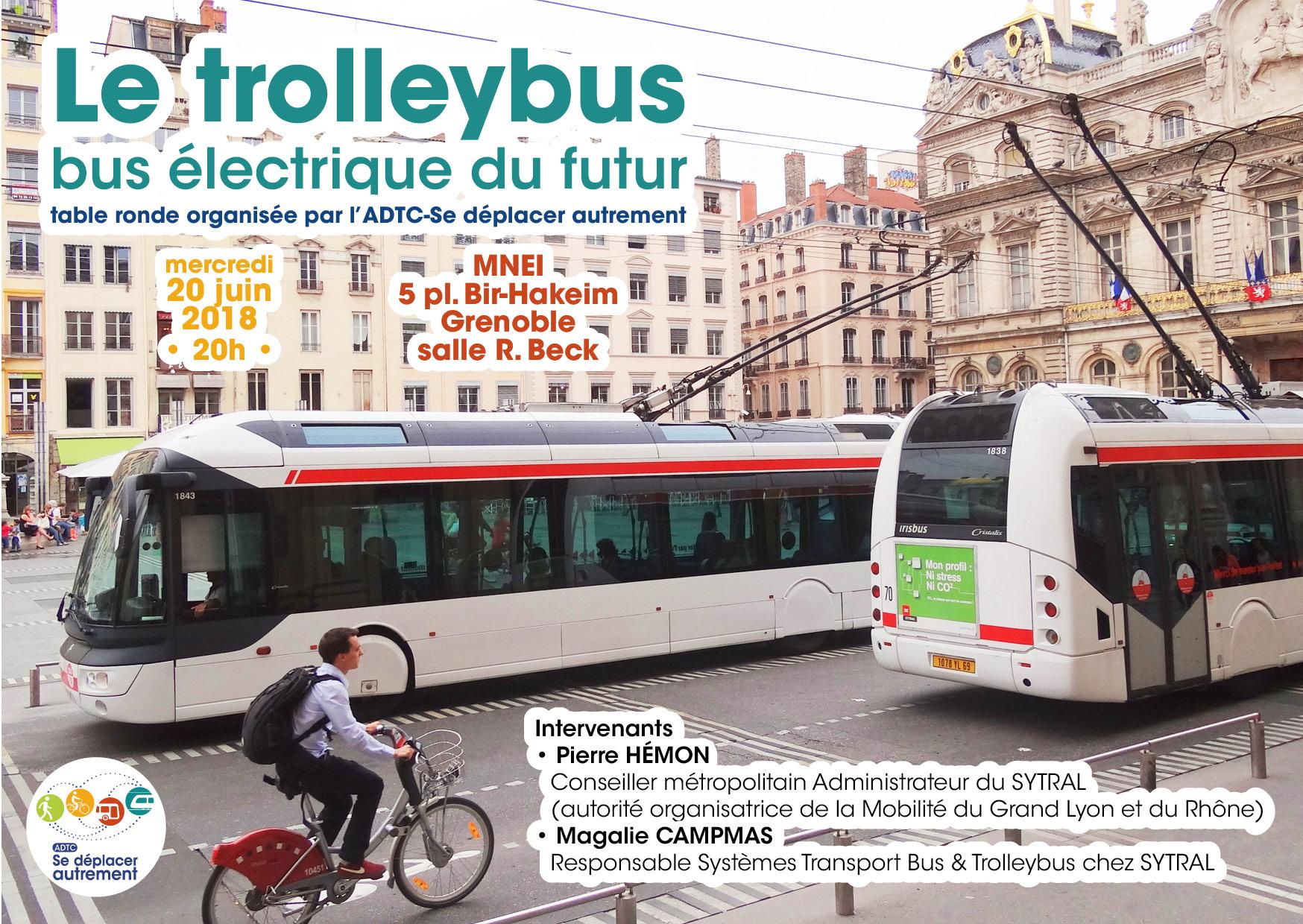 Table ronde : Le trolleybus, bus électrique du futur
