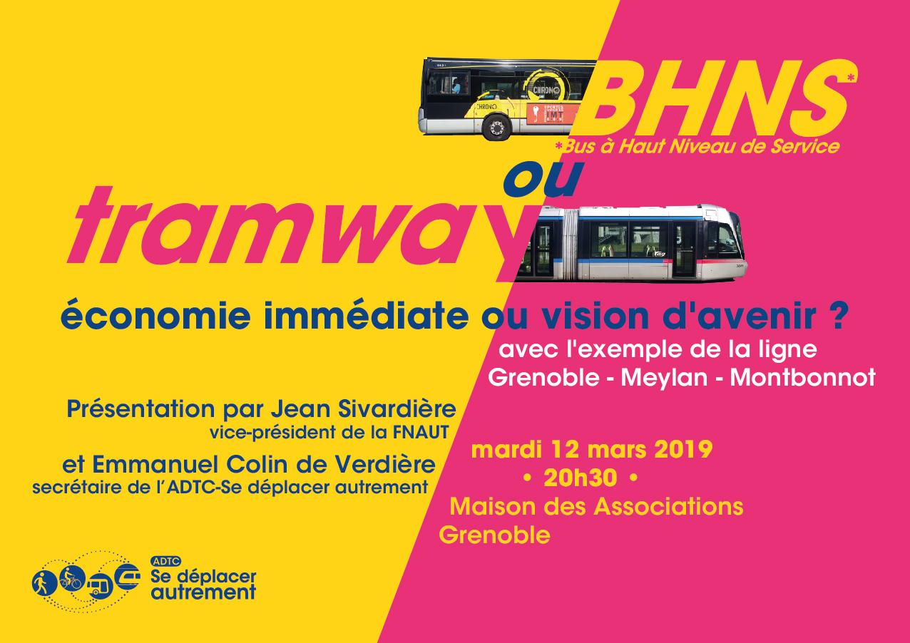 BHNS ou Tramway, économie immédiate ou vision d'avenir