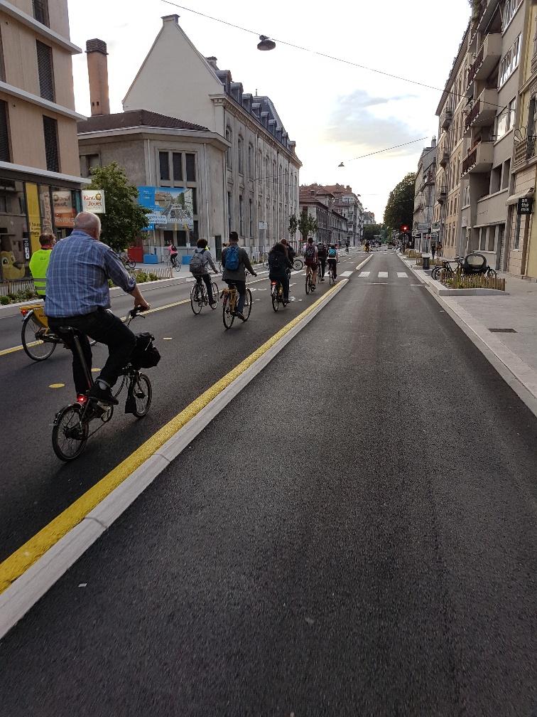 Une Chronovélo : un aménagement réservé aux déplacements à vélo !