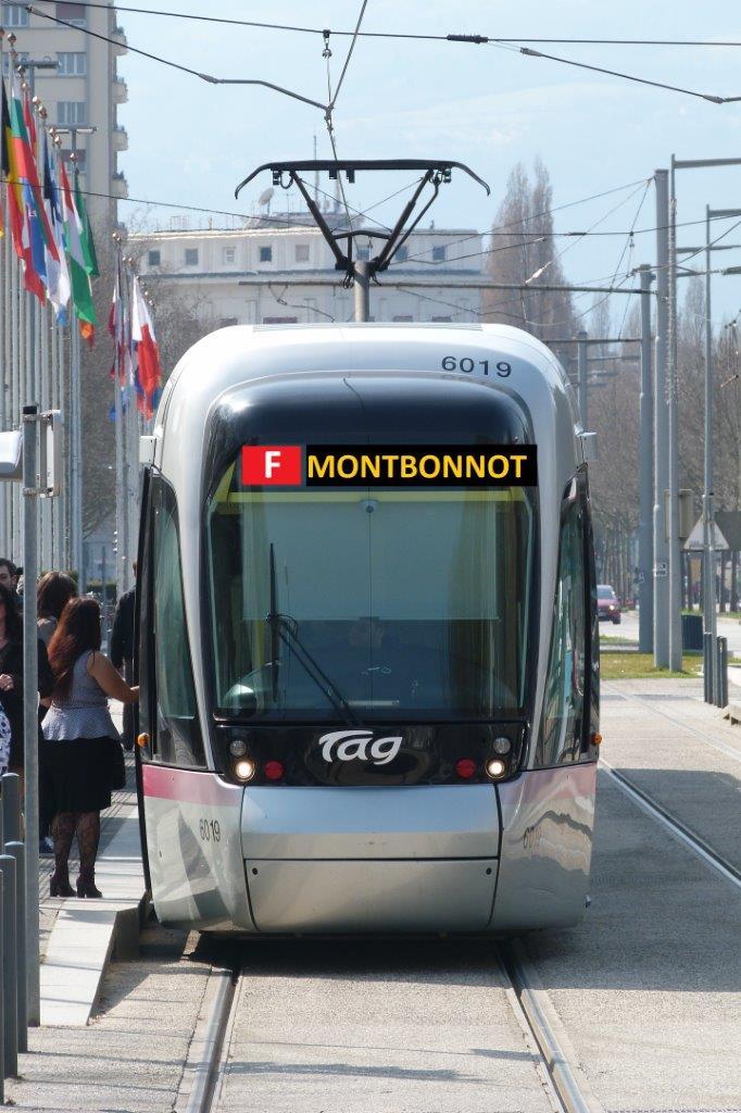 La desserte en transport public Grenoble – Meylan – Montbonnot mérite un tramway pour offrir une réelle alternative à la voiture