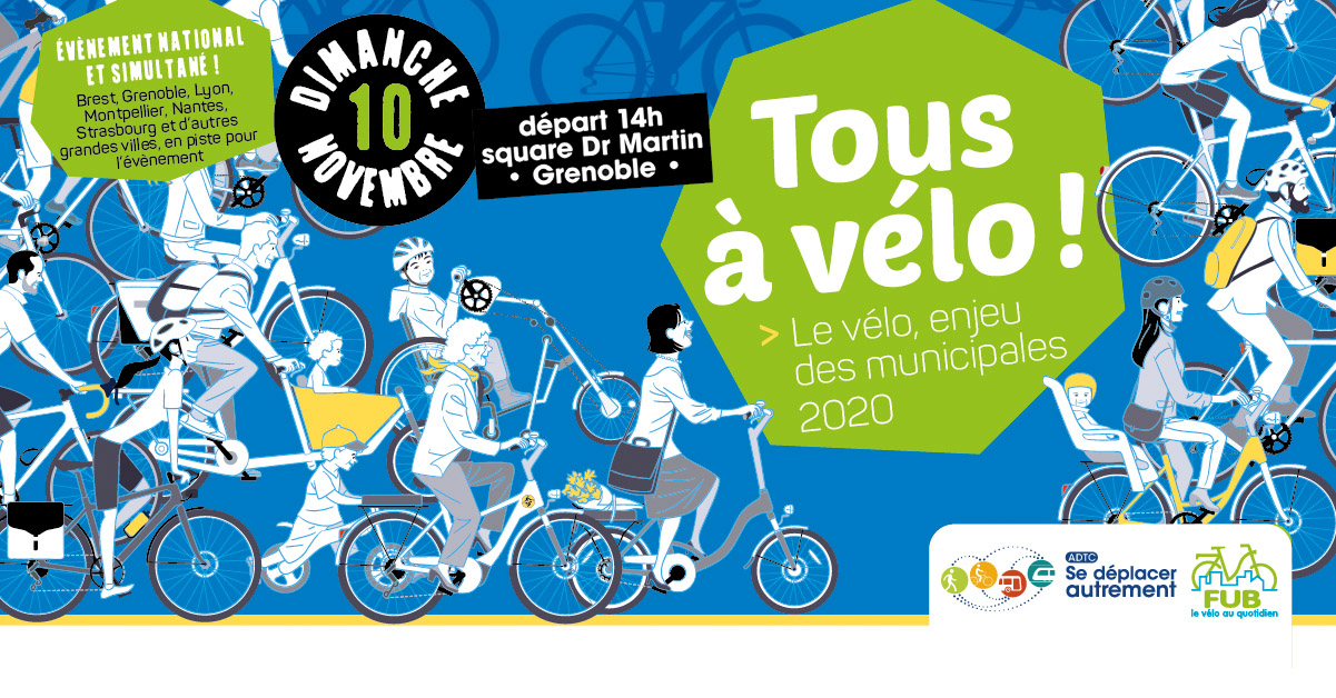 Tous à vélo ! Le Vélo, enjeu des municipales 2020