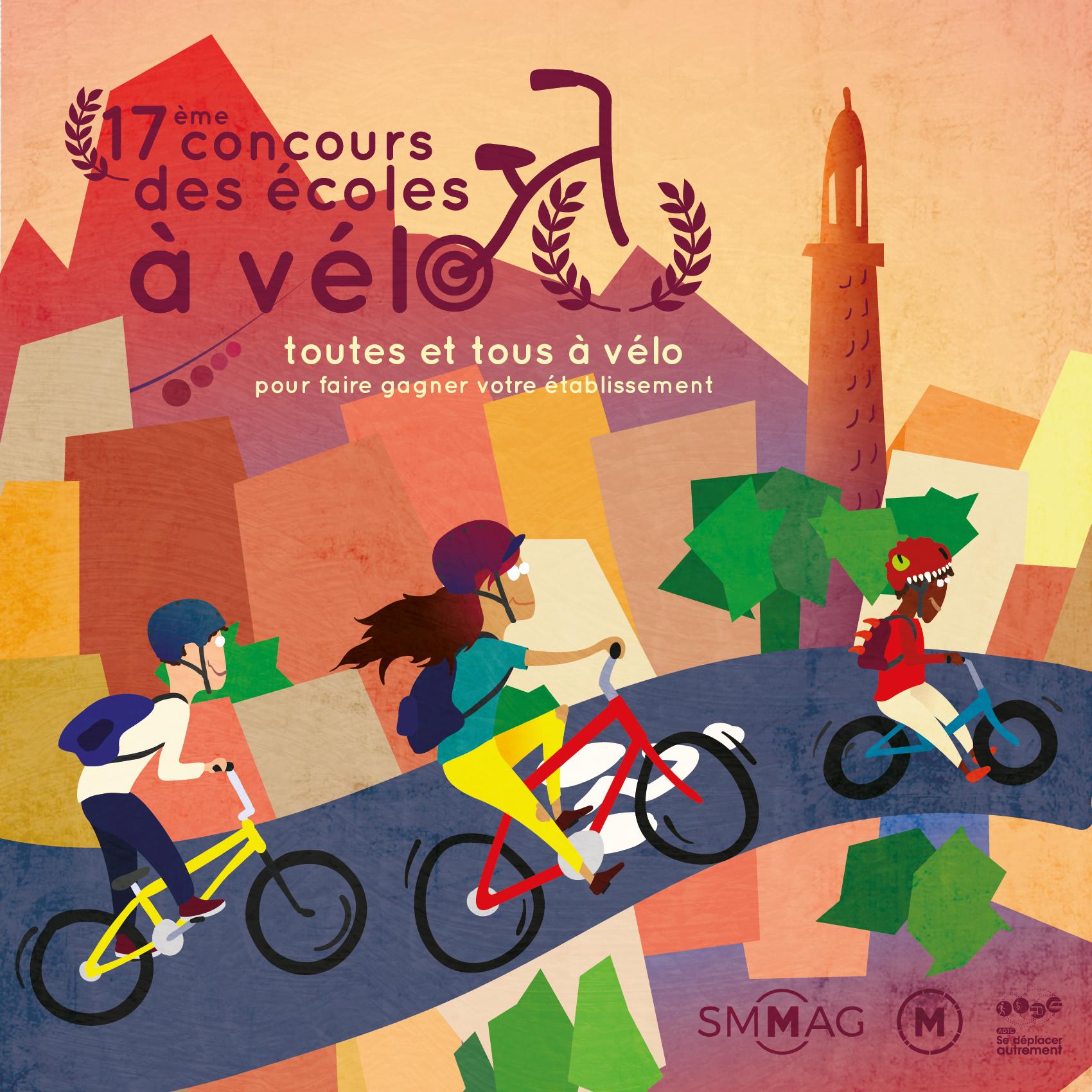 Les résultats de la 17ème édition du concours des écoles à vélo sont disponibles !